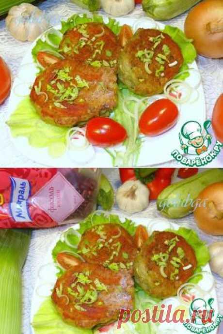 Картофельные котлеты с кабачком и с фасолевой начинкой - кулинарный рецепт