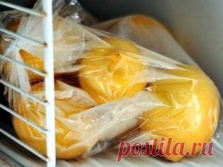 Замороженные лимоны спасут от ожирения, опухолей и диабета!  Лимоны замораживают в основном ради цедры. После размораживания цедра становится более мягкой и ее удобнее употреблять в пищу.  Как и у большинства других фруктов, в кожице лимона сконцентрирован максимум питательных веществ, помогающих регулировать уровень холестерина, укреплять иммунную систему и предотвращать рак. В ней также содержатся антимикробные, антигрибковые и антибактериальные вещества.  Регулярное употребление лимонов пр