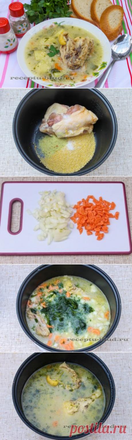 La sopa de gallina en la multicocción – la receta de la sopa sobre el caldo de gallina