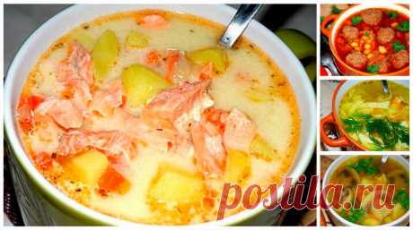 ТОП - 10 самых вкусных супов.