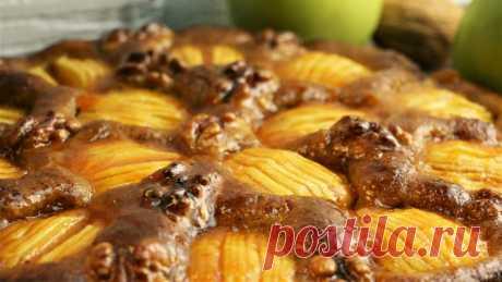 Я в восторге от этого десерта, этот пирог заменил нам торт (рецепт вкусного пирога с яблоками)   Как вкусно! С Ириной Юхновец   Пульс Mail.ru