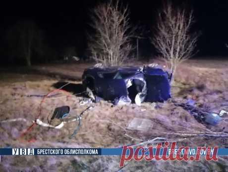 В Дрогичинском районе пьяный водитель опрокинул в кювет Renault - grodno24.ru