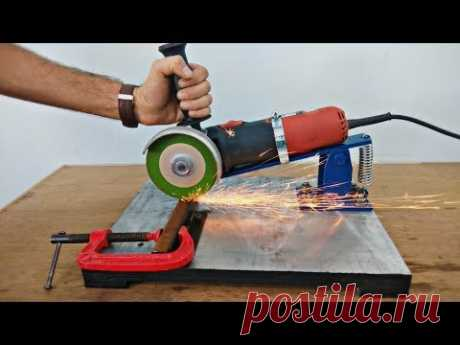 Homemade Angle Grinder Stand // Restore Angle Grinder Support..