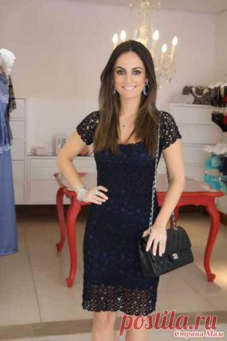 """Вязание платья """"Загадочная бразильянка"""" Приветствую всех желающих связать это красивое кружевное платье  Меня зовут Люба, ко мне на ты. Вяжу платье сестре на 44 размер из хлопка 100%, крючок №2."""