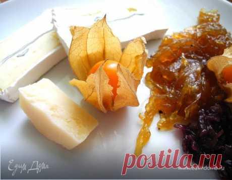 Луковый мармелад к сырам и дичи, рецепт с ингредиентами: вино белое, соль морская, оливковое масло