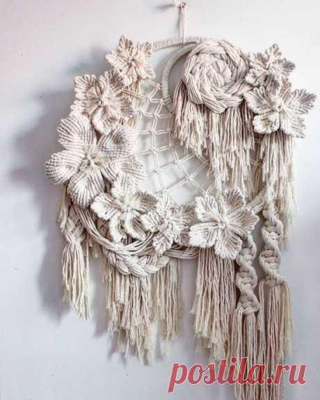 Коллекция узлов и приемов плетения макраме