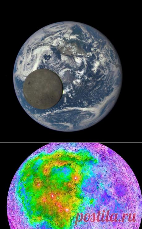 Астрономы нашли на обратной стороне Луны уран и поняли, почему ее видимая сторона тяжелее невидимой