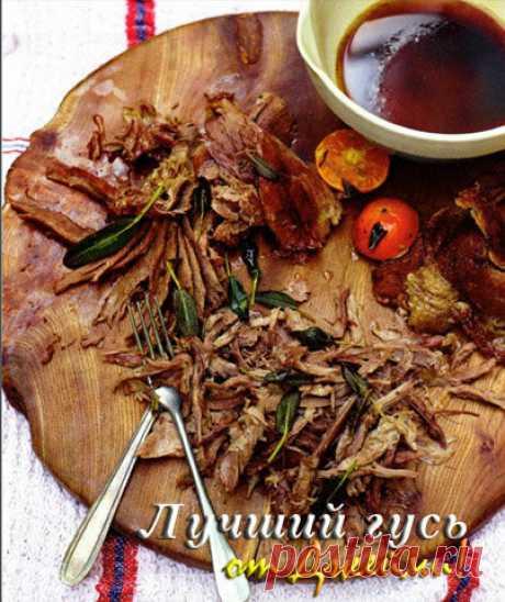 Рецепты к Новогоднему столу. Гусь в духовке | Рецепты Джейми Оливера
