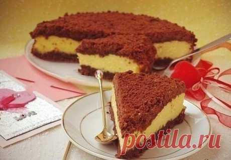 Творожный «торфяной» пирог — ДОМАШНИЕ