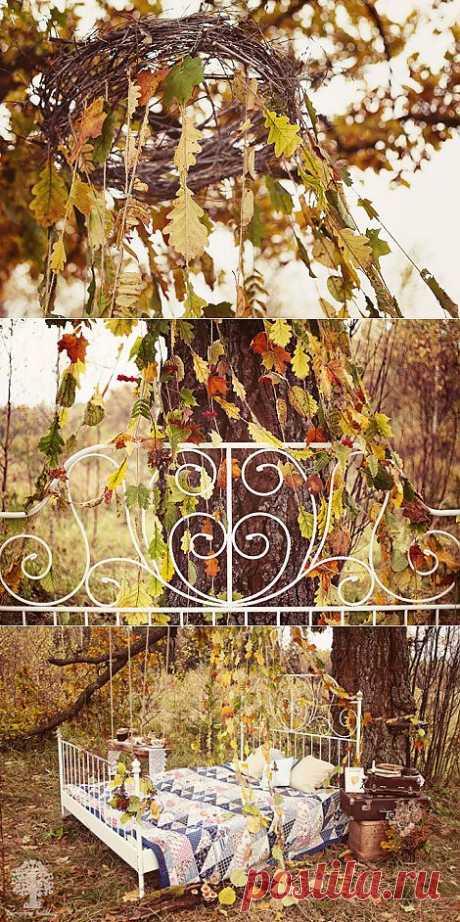 Осень, осень: love-story Денис и Юли - WeddyWood