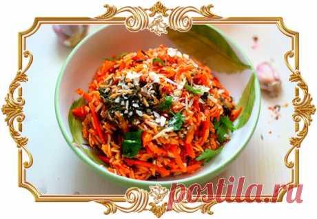 #Индийский #рис #со #шпинатом #от #Юлии #Высоцкой (#рецепт #постный и #вегетарианский, и #диетический, и #без #глютена)  Индийская кухня столь же разнообразна, сколь и культура этой многоликой страны. Одна из важнейших отличительных её черт - это ароматы. Индийцы очень продумано используют большое количество специй, создавая на тарелке гармонию вкуса и цвета. Показать полностью...