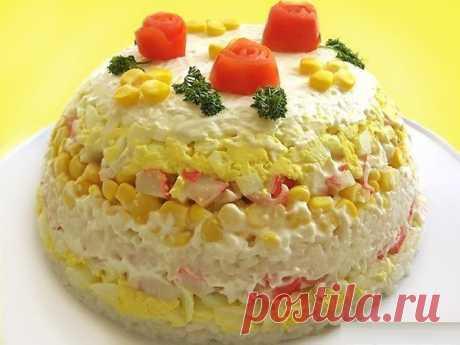 Шустрый повар.: Торт-салат