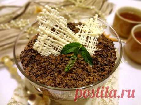 Шоколадный мусс - Пошаговый рецепт с фото | Десерты