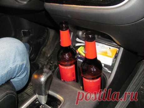 Могут ли наказать за распитие пассажиром слабоалкогольных напитков в машине?
