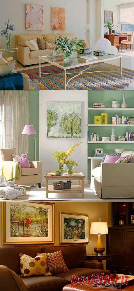 Картины в интерьере квартиры. Как подобрать картину в интерьер