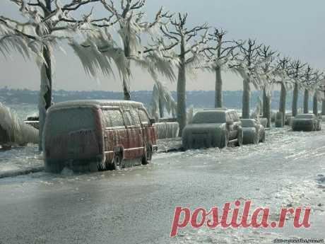 Самые красивые фотографии морозной зимы • НОВОСТИ В ФОТОГРАФИЯХ