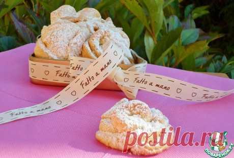 Итальянское сливочное печенье Кулинарный рецепт