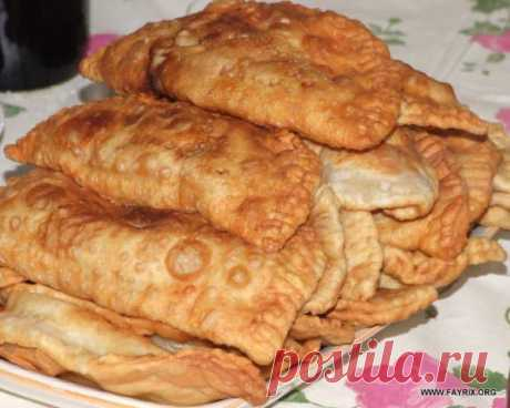 Тесто на чебуреки рецепт - Кулинарные рецепты от Веселого Жирафа