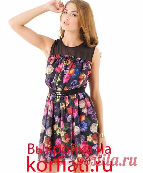 Выкройка платья в стиле бэби-долл от А. Корфиати Выкройка платья в стиле бэби-долл: шьем самостоятельно. Сегодня платья в стиле бэби-долл популярны как никогда! Предлагаем вам выкройку одного из платьев...