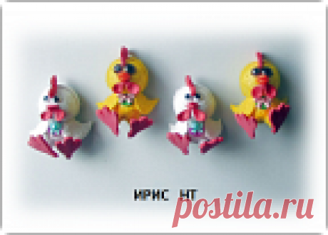 Куклы из фоамирана новогодние петушки - магниты на холодильник, фоамиран плюш