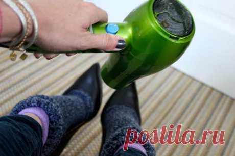 Эффективные методы для растяжки обуви