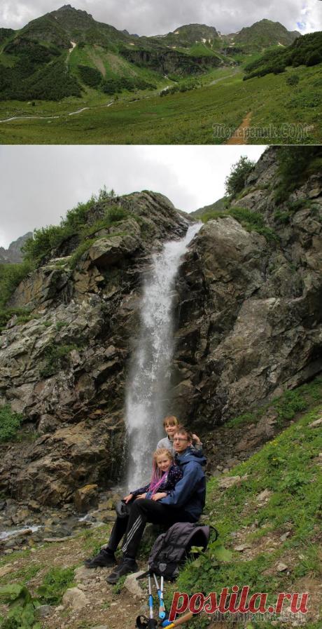 Архыз 2018. 4. Водопады Ак-Айры