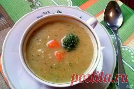 Суп из брокколи диетический - пошаговый рецепт с фото на Повар.ру