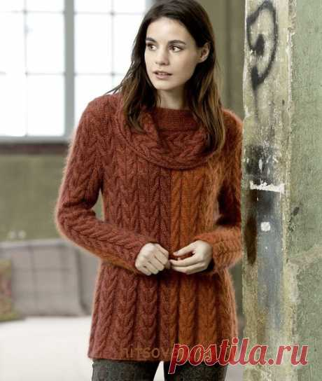 Brown tunic. - Knitting - the Country of Mothers
