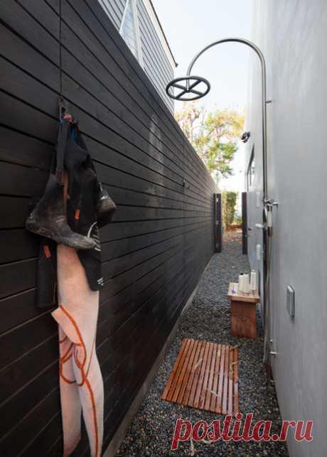 Садовый душ на даче: 42 фото-идеи для летнего дачного душа своими руками на участке и во дворе | Houzz Россия