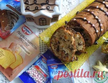 """Пряный кекс """"Зимний"""" – кулинарный рецепт"""