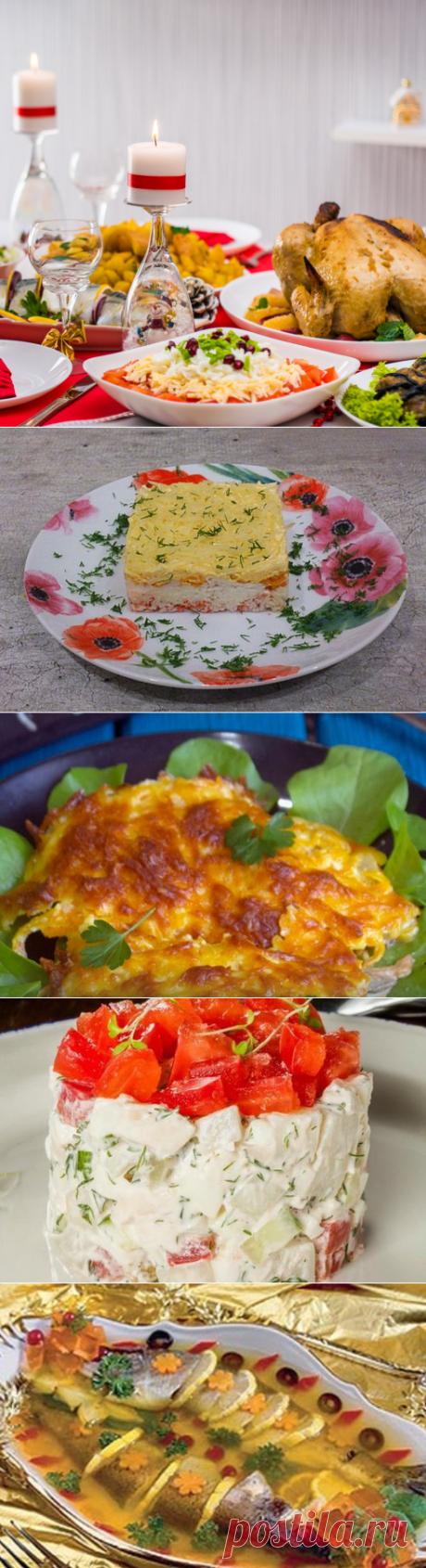 Новогоднее праздничное меню из 12 блюд рецепт с фото