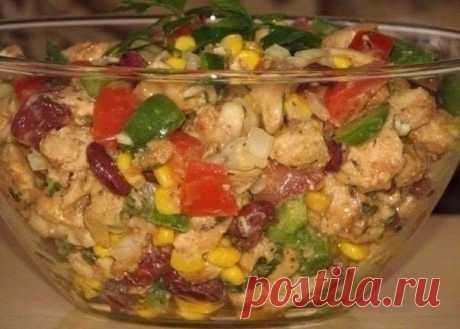 Как приготовить салат без майонеза - рецепт, ингридиенты и фотографии