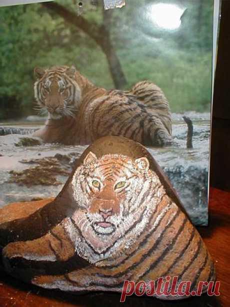 rockpaintingii: View Photo:My Tiger