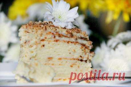 """Торт """"Творожный Наполеон""""."""