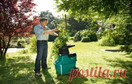 Садовый измельчитель отходов: какой выбрать для дачи, для травы, для веток, чертежи самодельного, фото, видео