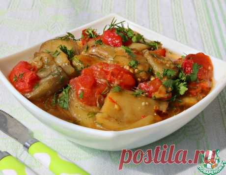 Баклажаны по-бакински – кулинарный рецепт