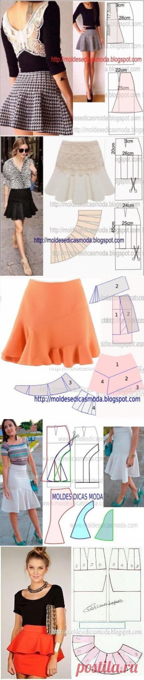 Портной • Шитье, переделки - легко!Моделирование юбок!