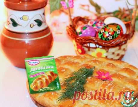 Пирог с моцарелой и чесночным маслом – кулинарный рецепт