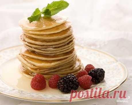 Панкейки (американские блинчики) - рецепт с фото на Повар.ру