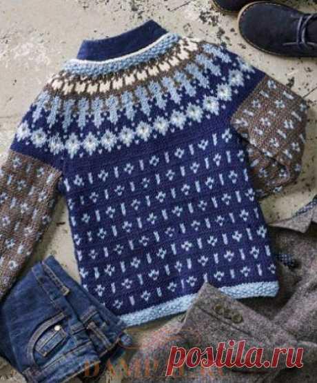 Детский пуловер «Миккель» | DAMские PALьчики. ru