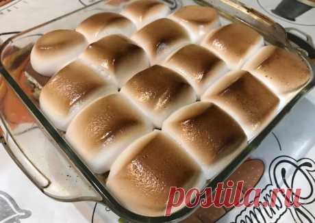 Десерт «Шамеллоус» - пошаговый рецепт с фото. Автор рецепта Дмитрий Катаранов . - Cookpad