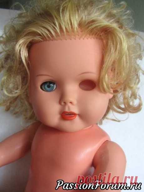 Опыт кукольной офтальмологии - запись пользователя Ursel (Наталия) в сообществе Мир игрушки в категории История игрушки