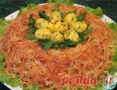 Салат «Гнездо глухаря» – кулинарный рецепт