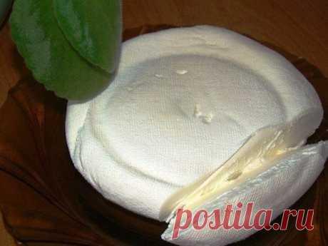 El queso de casa maskarpone de smetanki, muy sabroso
