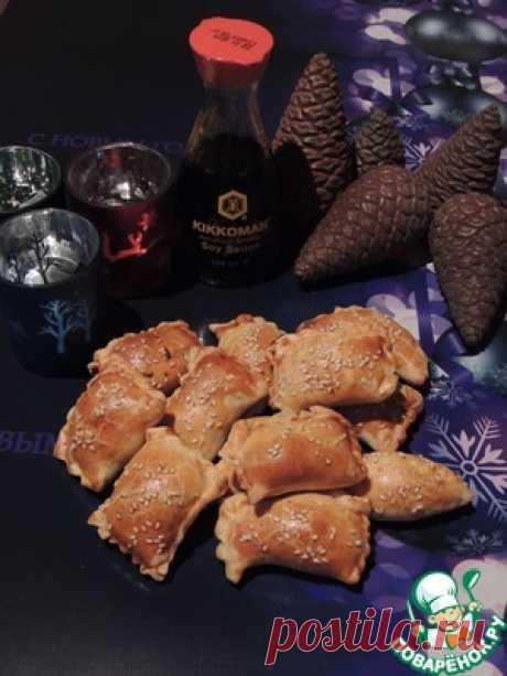 Мини-пирожки с куриной грудкой - кулинарный рецепт