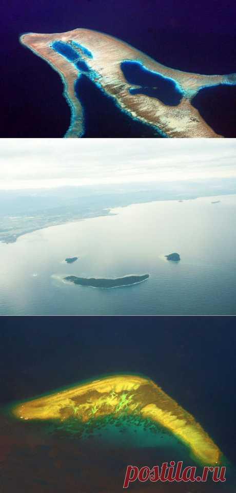12 островов с удивительными очертаниями : НОВОСТИ В ФОТОГРАФИЯХ