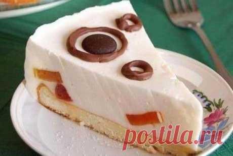 Как приготовить торт со сметаной и печеньем - рецепт, ингридиенты и фотографии