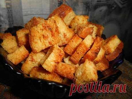 Готовим пикантные сухарики   CookLike Рецепты – Еда и вкусные хитрости   Яндекс Дзен