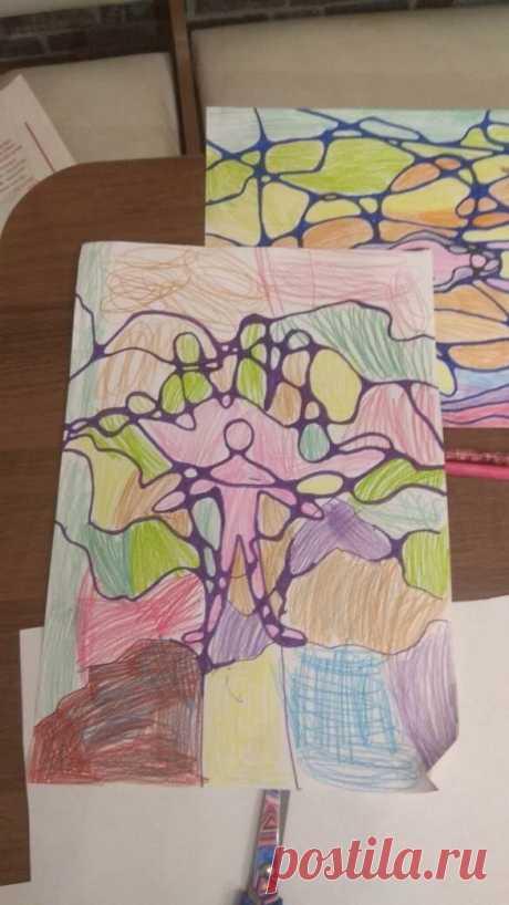 Нейрографический рисунок