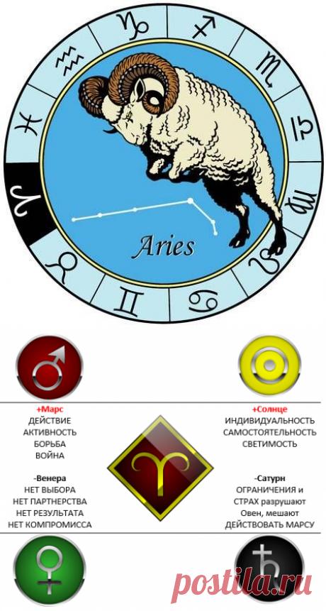 Сильный Овен (астропсихология) » Астролог
